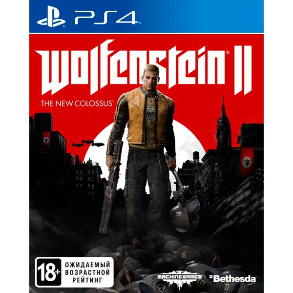 PS4 игра Bethesda Wolfenstein II: The New Colossus фото