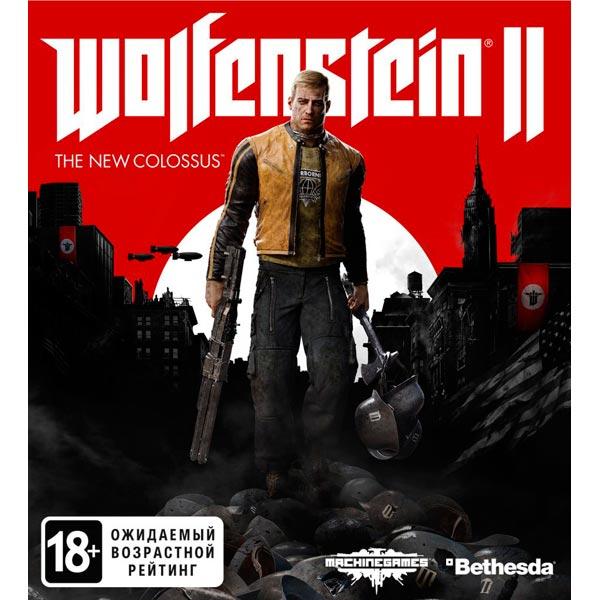 все цены на Видеоигра для PC . Wolfenstein II: The New Colossus онлайн
