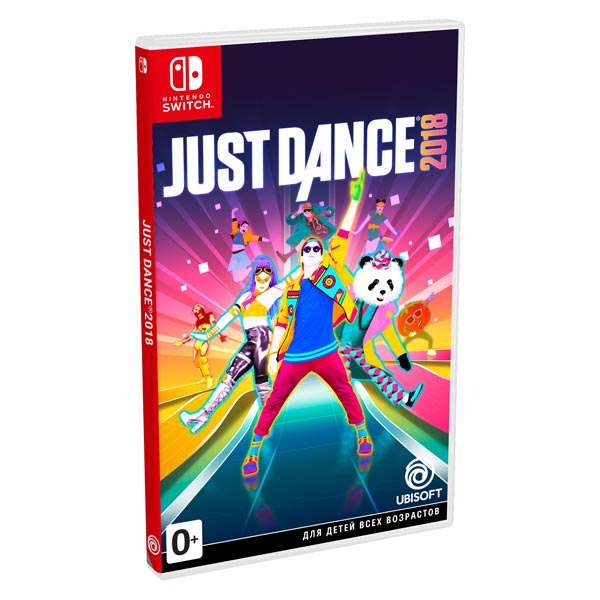 Nintendo Switch игра Ubisoft Just Dance 2018
