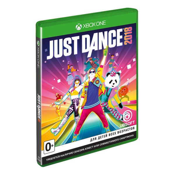 Видеоигра для Xbox One . Just Dance 2018 just dance 2016