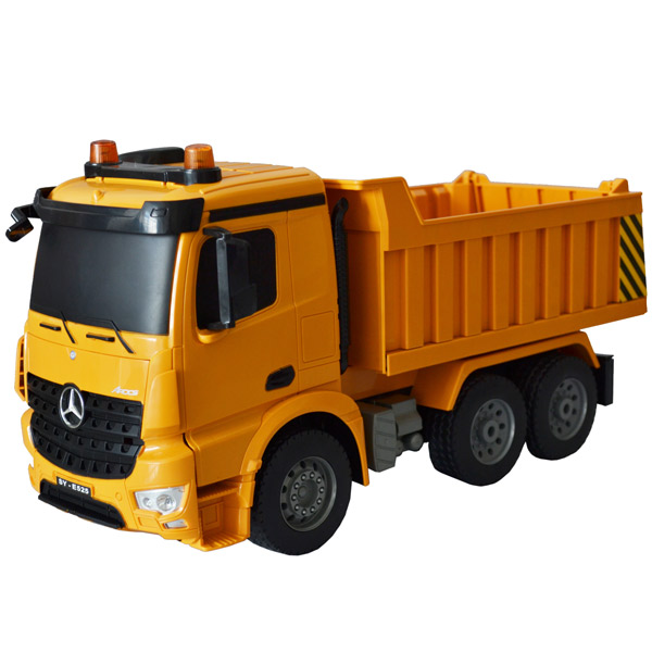 Радиоуправляемая машина Pilotage Самосвал Mercedes-Benz Arocs 1:20 (RC47812) игрушка pilotage mb arocs мусоровоз 1 20 rc47816