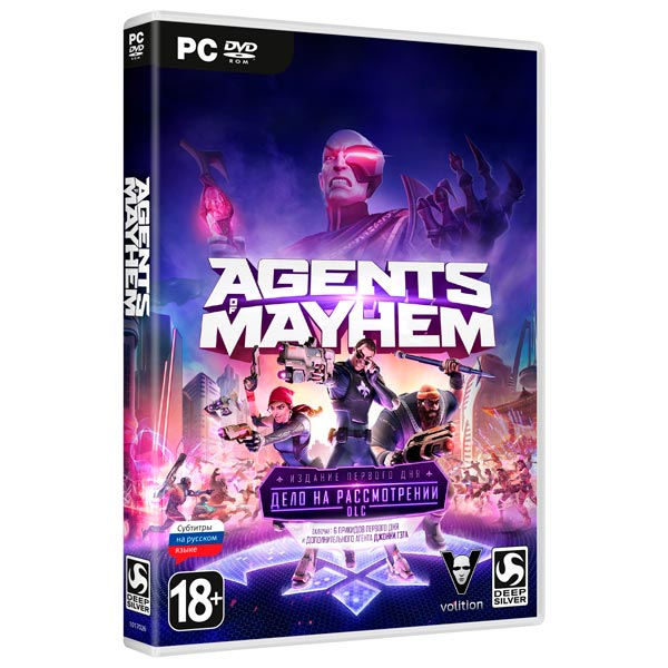 Видеоигра для PC . Agents of Mayhem catalog of teratogenic agents first edition