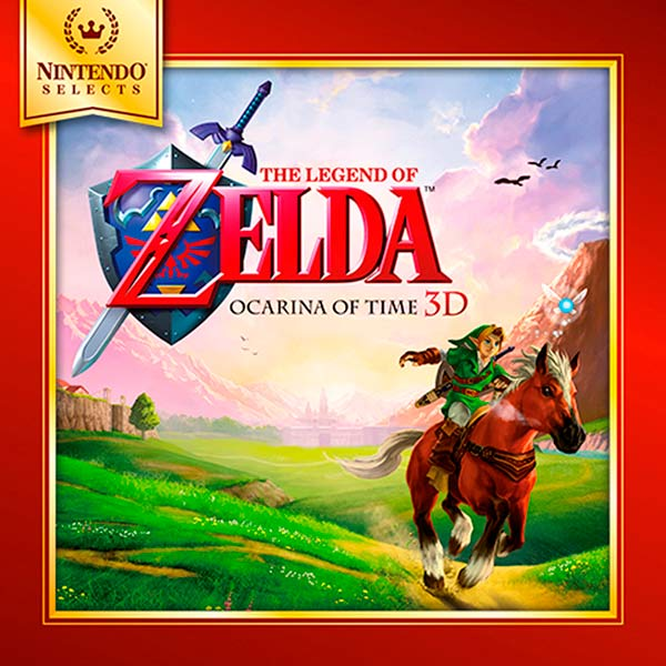 Игра для Nintendo 3DS The Legend of Zelda: Ocarina of Time 3D