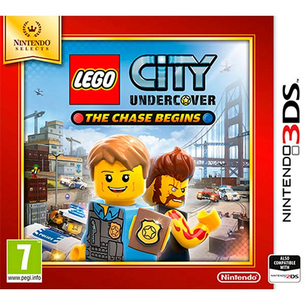 Игра для Nintendo 3DS Игра LEGO City Undercover: The Chase Begins