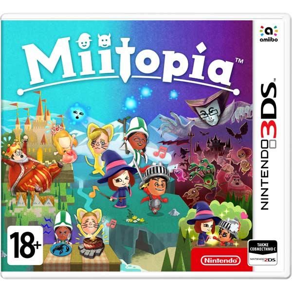 Игра для Nintendo 3DS Miitopia
