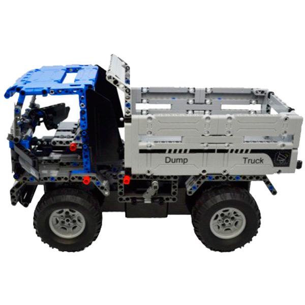 Радиоуправляемая модель-конструктор Double Eagle Конструктор CaDA Technic Dump Truck (RC49604) pilotage конструктор cada technic dump truck