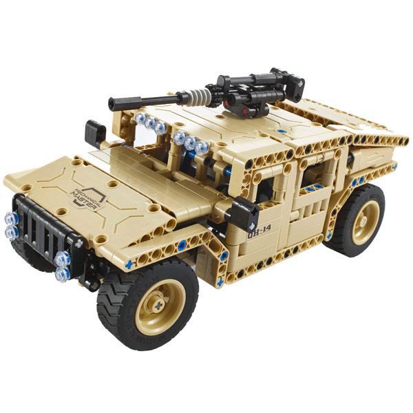 QiHui, Радиоуправляемая модель-конструктор, Armed Off-road Vehicle  502 эл.