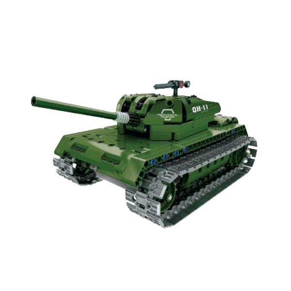 все цены на Радиоуправляемая модель-конструктор QiHui Tank, 453 эл. онлайн