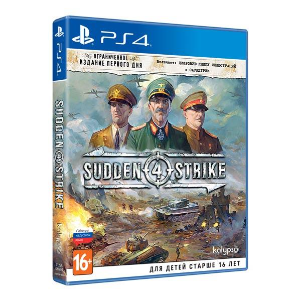 Видеоигра для PS4 . Sudden Strike 4