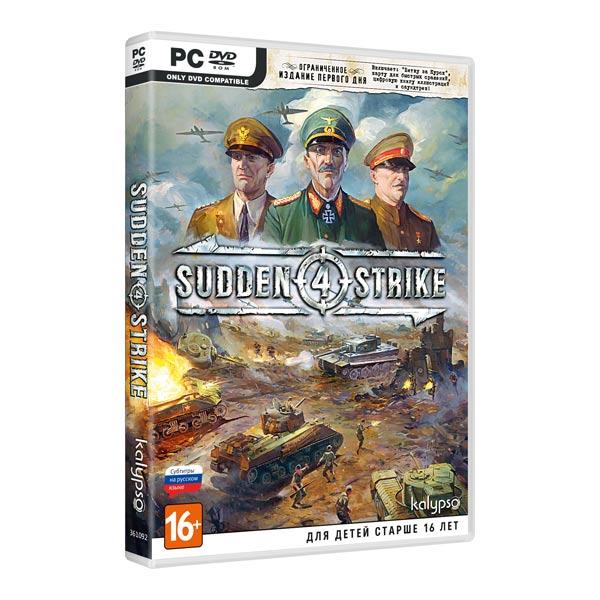 Видеоигра для PC+ . Sudden Strike 4 видеоигра для pc медиа rise of the tomb raider 20 летний юбилей