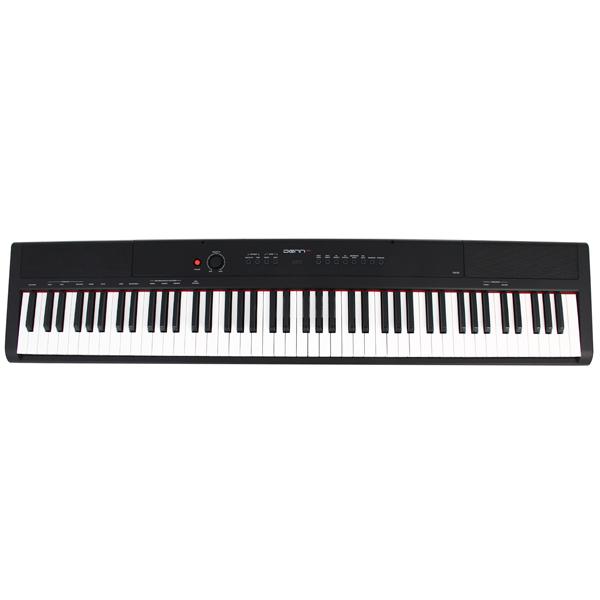 Синтезатор Denn компактное пианино PRO PW01 BK