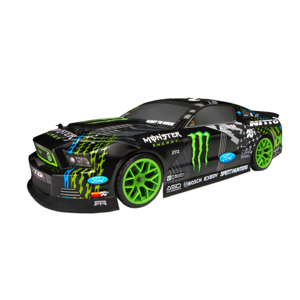 Радиоуправляемая машина HPI Racing Дрифт 1/10 RTR E10 Ford Mustang Vaughn Gittin Jr. радиоуправляемая машина для дрифта hpi racing rs4 sport 3 vgjr ford mustang 4wd rtr масштаб 1 10 2 4g hpi 115984