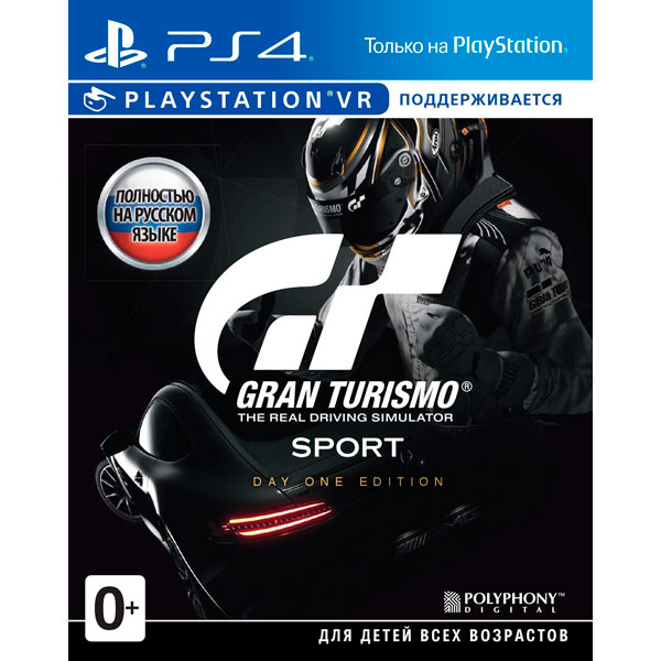 Видеоигра для PS4 . Gran Turismo Sport Day One Edition