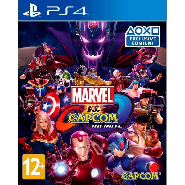 Видеоигра для PS4 . Marvel vs