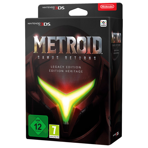 Nintendo ассортимент 2 Nintendo 3DS Metroid:Samus Returns Legacy Edition