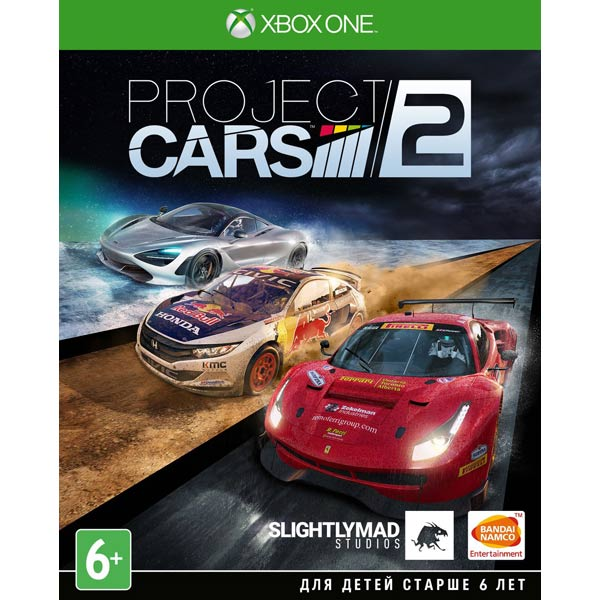 Видеоигра для Xbox One . Project CARS 2 видеоигра для xbox one overwatch origins edition