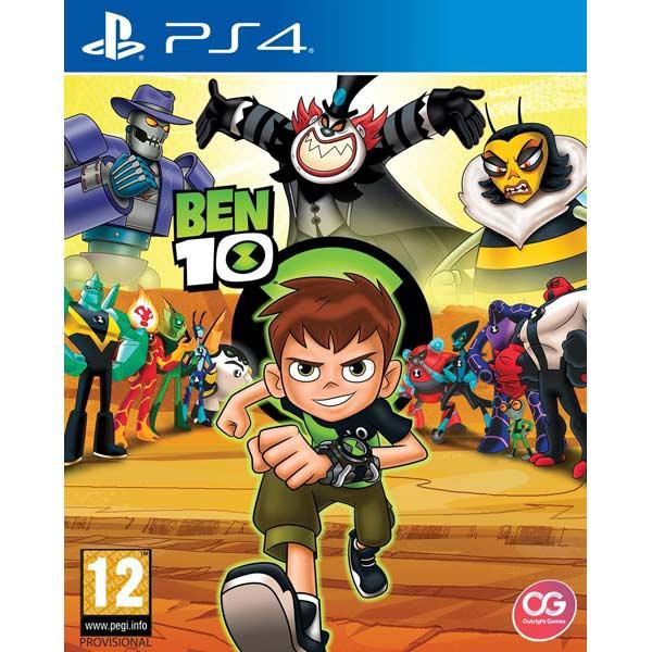 Видеоигра для PS4 . BEN 10