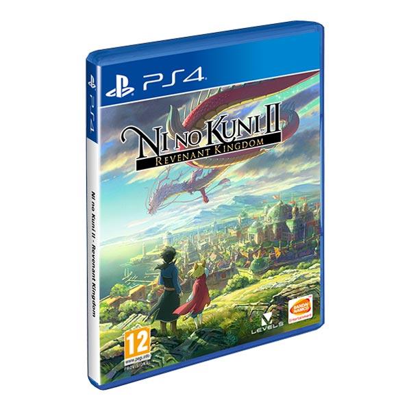 Видеоигра для PS4 . Ni no Kuni II:Возрождение Короля