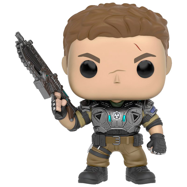 Фигурка Funko POP! Games: Gears of War: JD Fenix Armored фигурка funko pop games gears of war damon baird armored 9 5 см