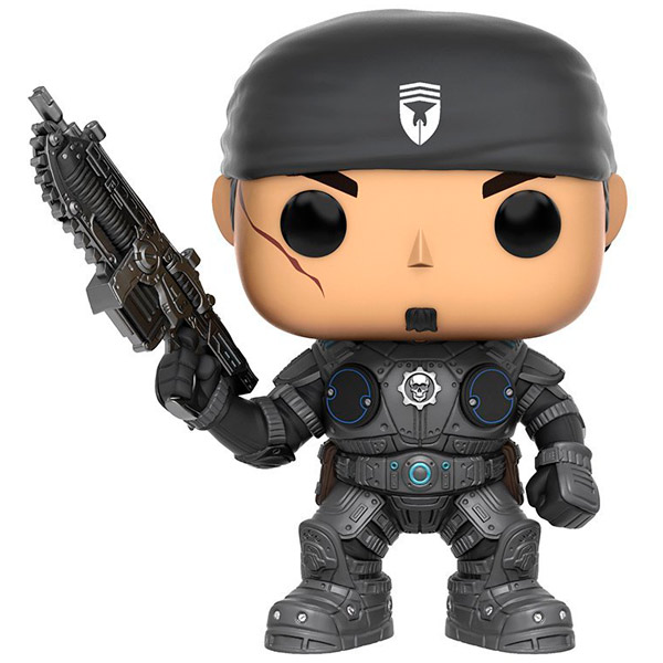 Фигурка Funko POP! Games: Gears of War: Marcus Fenix фигурка gears of war 4 jd fenix 17 см