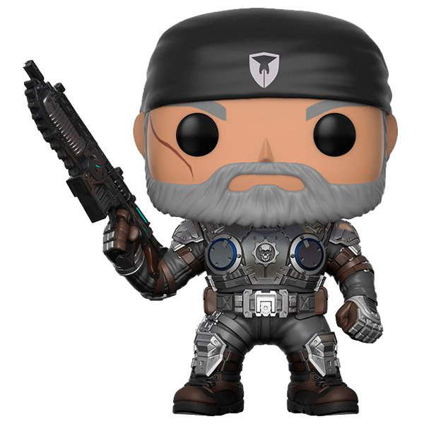 Фигурка Funko POP! Games: Gears of War: Marcus Fenix (Old Man) 2018 epic game gears of war logo wallets purse red leather man women new w135