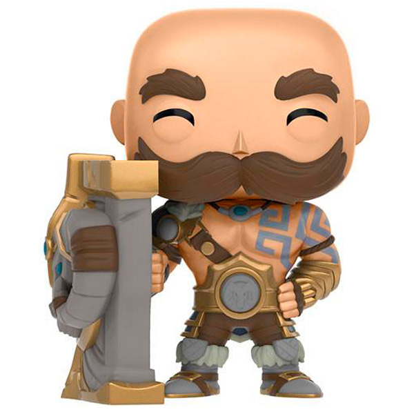 Фигурка Funko POP! Games: League of Legends: Braum 30cm league of legends lol panda plush doll stuffed toy birthday gift