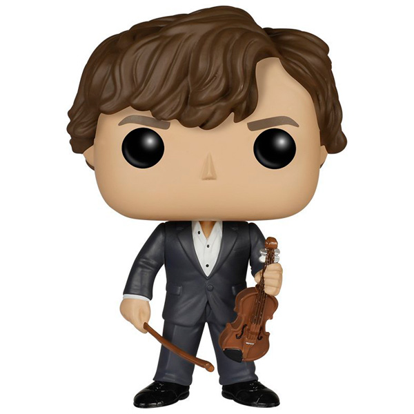 Фигурка Funko POP! Television:Sherlock:Sherlock Holmes w/Violin 140v 4 4 full size diamond carbon fiber violin bow ebony frog nickel silver mounted mongolia horsehair violin parts accessoreis