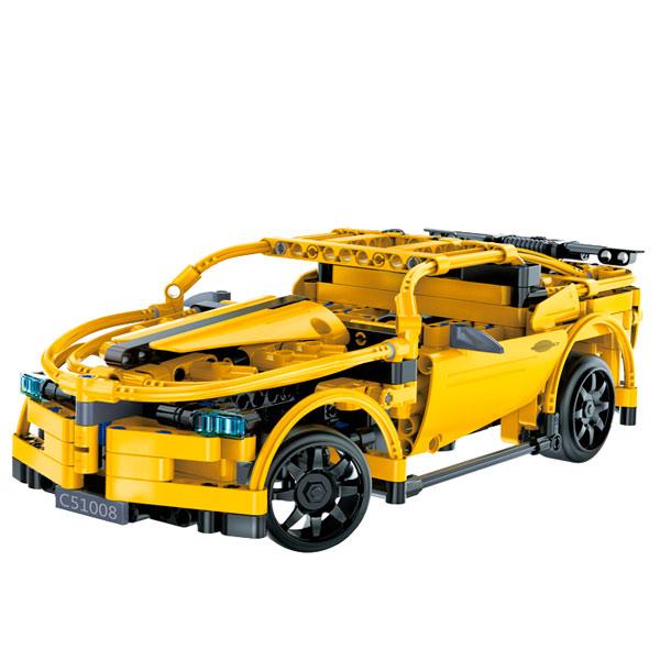 Радиоуправляемая модель-конструктор CaDa Hornet Sportscar (C51008W) pilotage конструктор cada technic dump truck