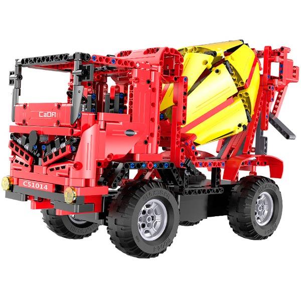 Радиоуправляемая модель-конструктор CaDa Mixer Truck (C51014W) pilotage конструктор cada technic dump truck
