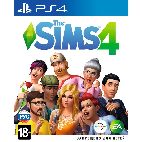 Видеоигра для PS4 Медиа The Sims 4 the sims 3 pets
