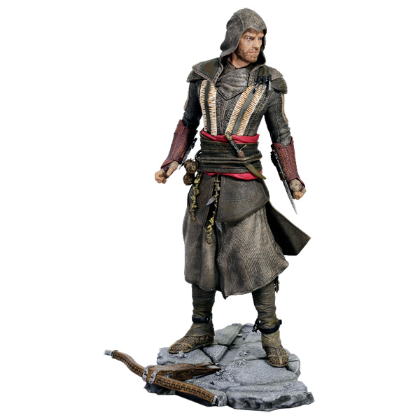 Фигурка UbiCollectibles ASSASSIN?S CREED MOVIE FASSBENDER AGUILAR 27cm anime game doll playarts assassin s creed unity action figure connor kenway pvc collection model toy