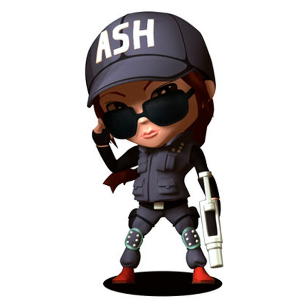 UbiCollectibles, Фигурка, SIX COLLECTION  ASH CHIBI