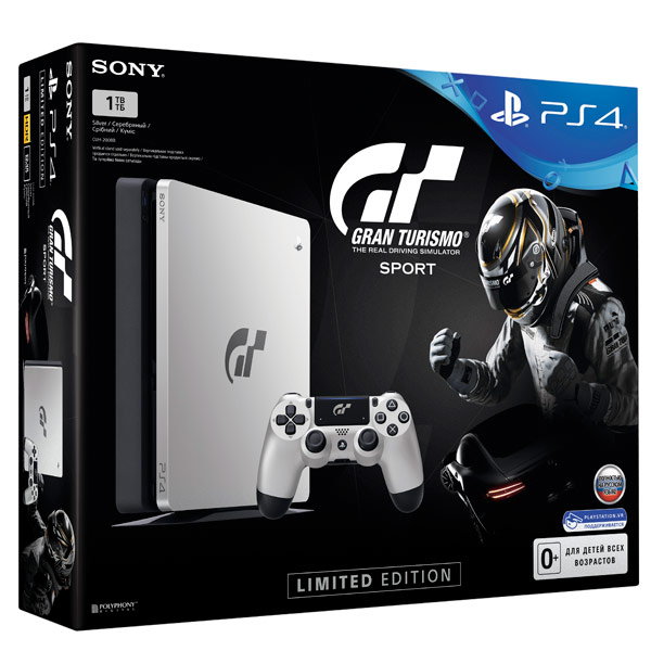 Игровая консоль PlayStation 4 1TB + Gran Turismo Sport Специальное издание игровая консоль sony playstation 4 slim 1tb black gran turismo sport limited edition игра gran turismo sport