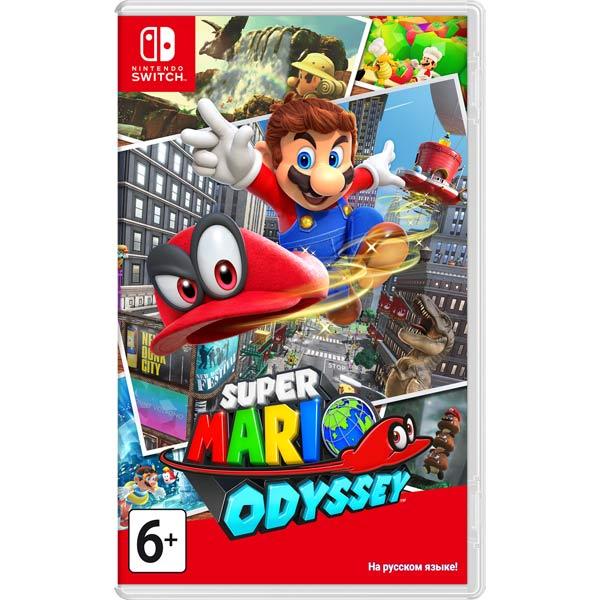Игра Nintendo — Switch Super Mario Odyssey
