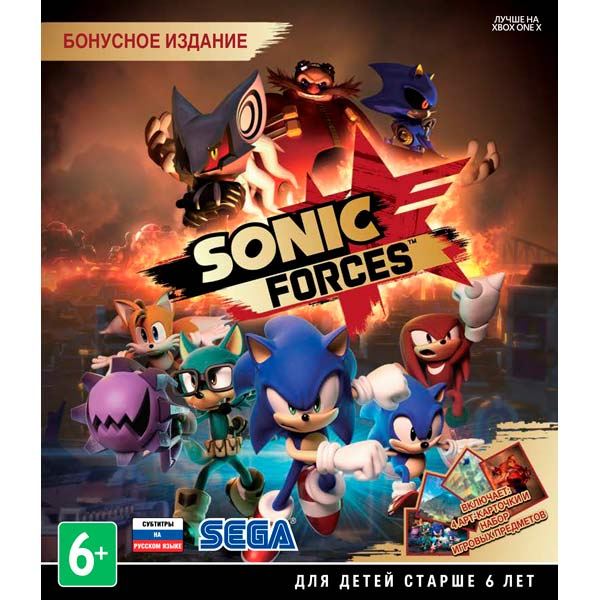 Видеоигра для Xbox One . Sonic Forces видеоигра для xbox one overwatch origins edition