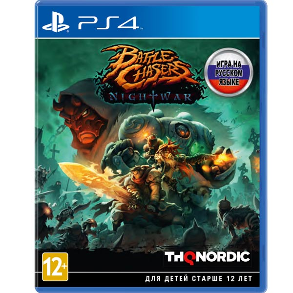 Видеоигра для PS4 . Battle Chasers:Night War battle chasers nightwar игра для ps4