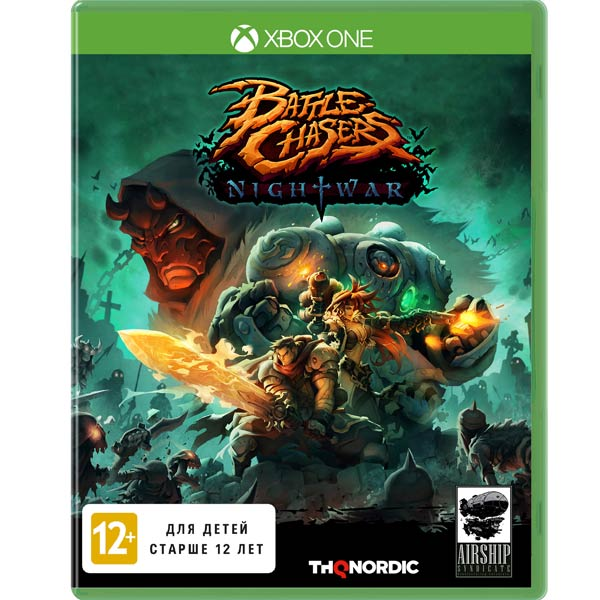 Видеоигра для Xbox One . Battle Chasers:Night War battle chasers nightwar игра для ps4
