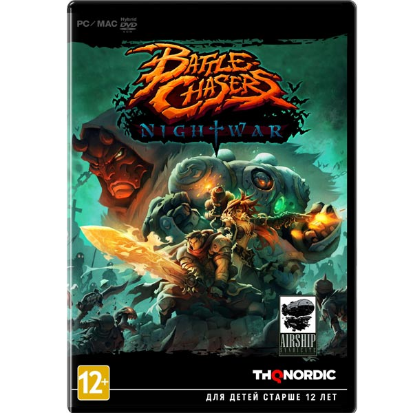 Видеоигра для PC . Battle Chasers:Night War battle chasers nightwar игра для ps4