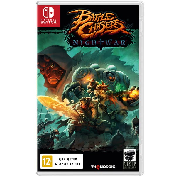 Игра для Nintendo Battle Chasers:Night War battle chasers nightwar игра для ps4