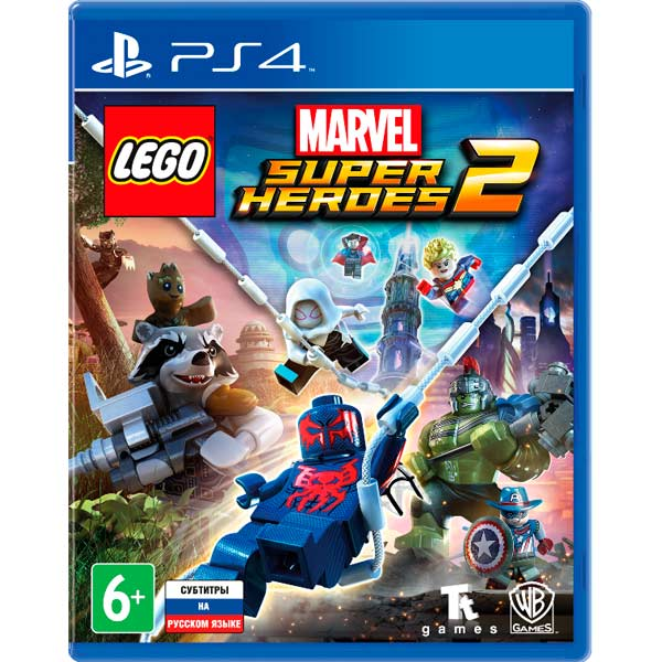 Видеоигра для ps4 ., LEGO Marvel Super Heroes 2