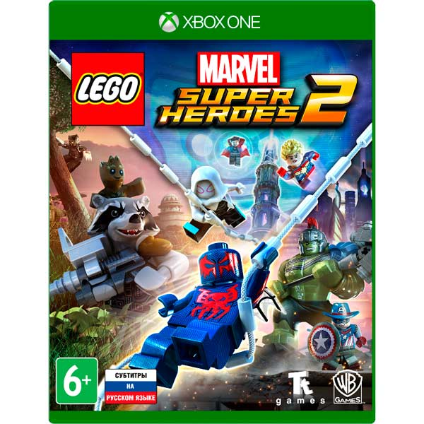 Видеоигра для Xbox One . LEGO Marvel Super Heroes 2 lego marvel super heroes [mac] цифровая версия
