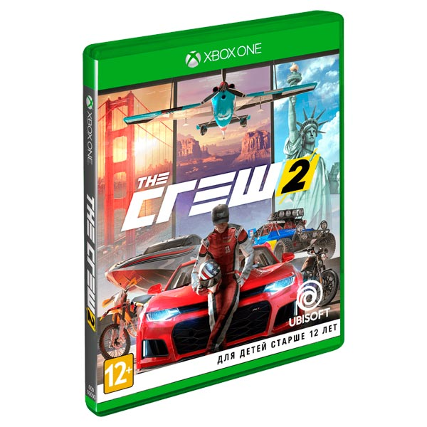 Xbox One игра Ubisoft The Crew 2
