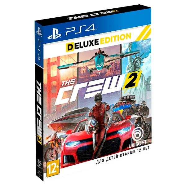 ps4 the crew 2 deluxe. Black Bedroom Furniture Sets. Home Design Ideas