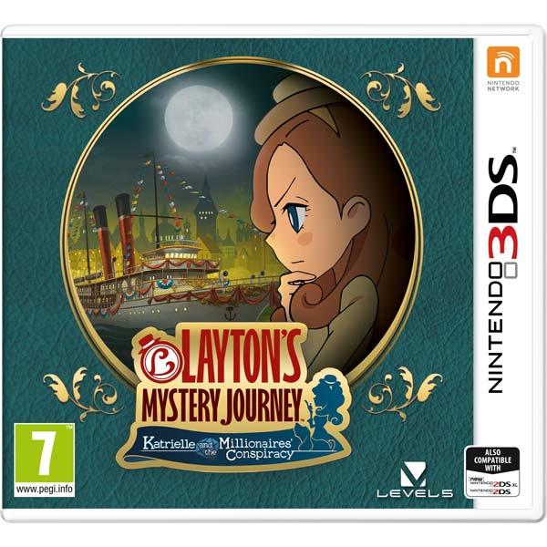 Игра для Nintendo — Layton's Mystery Journey