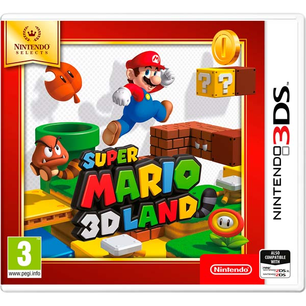 Nintendo, Игра для, Selects Super Mario 3D Land