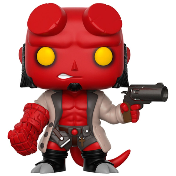 Фигурка Funko Pop! Comics: Hellboy - Hellboy With Jacket hellboy giant right hand anung un rama right hand of doom arms hellboy animated cosplay weapon resin collectible model toy w257