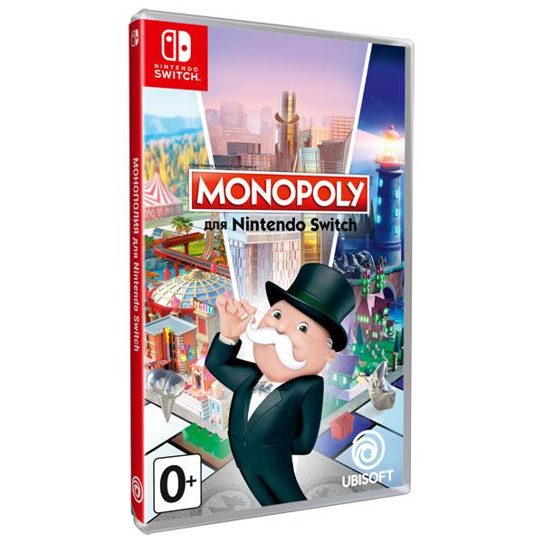 Nintendo Switch игра Ubisoft Monopoly