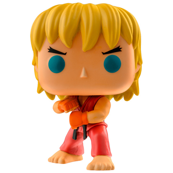 Фигурка Funko POP! Games: Street Fighter: Ken Special Attack runner