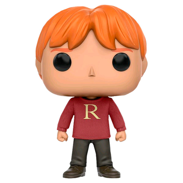 Фигурка Funko POP! Harry Potter: Ron Weasley (Sweater) (Exc) harry potter ollivanders dumbledore the elder wand in box prop replica