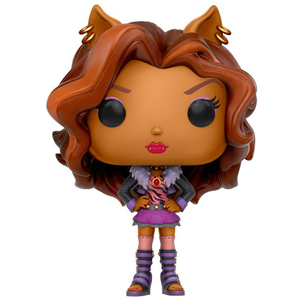 Фигурка Funko POP! Monster High: Clawdeen Wolf monster high 100 наклеек